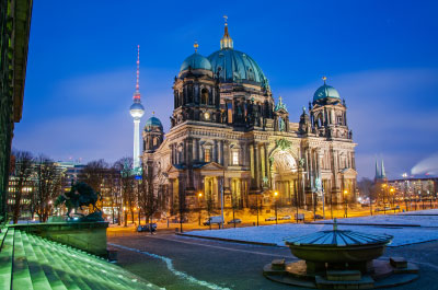 restaurant visit and sightseeing Berlin